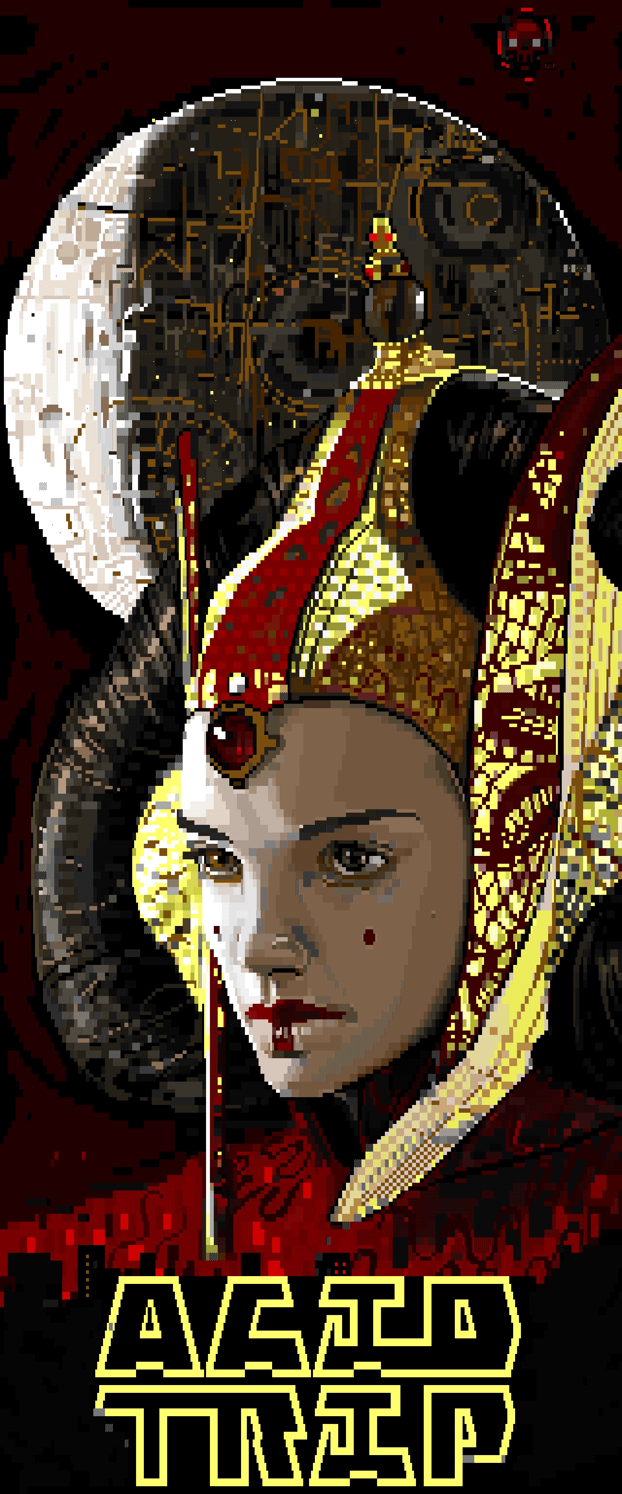tcf - 22 - amidala.XB, star wars, movie, movies, red, yellow