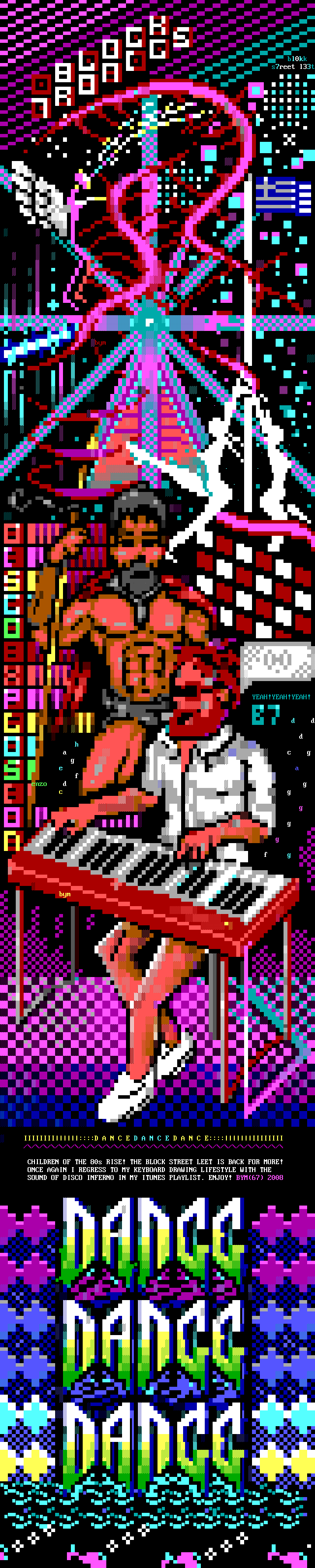 we-sparta.ans, purple, red, white, yellow, green, logo, font, dance, music, play, beard, sparta, spear, men, man, glasses, piano, eletronic, ansi, ansi joint, enzo, luciano, luciano ayres, bym, movie, movies, big yellow man
