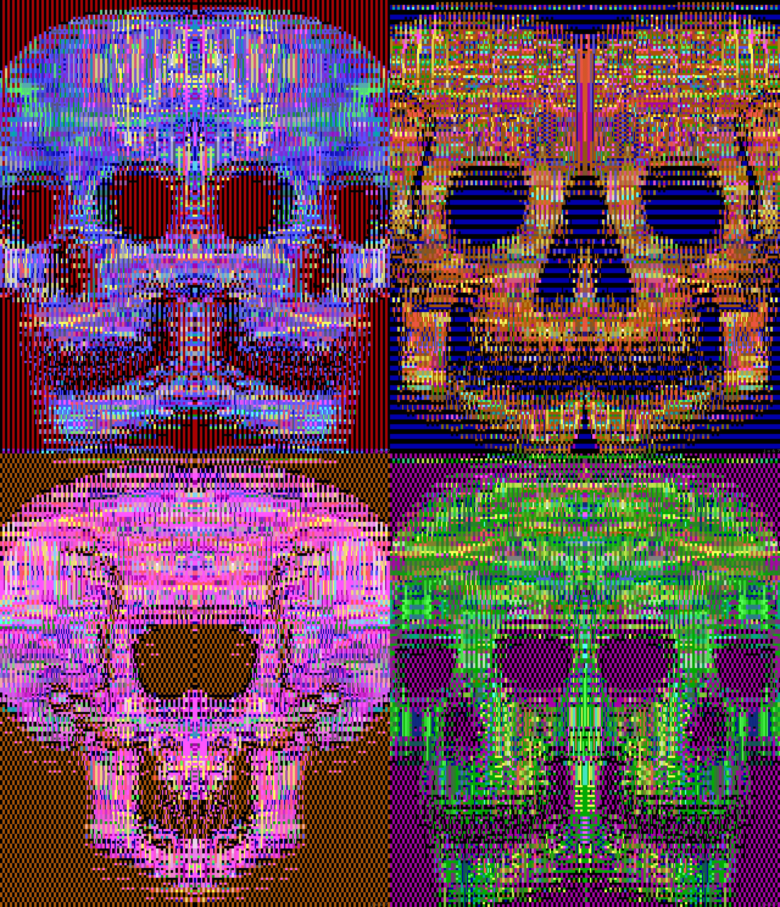 skulls, skull, red skull, green skull, print, pattern, mosaic