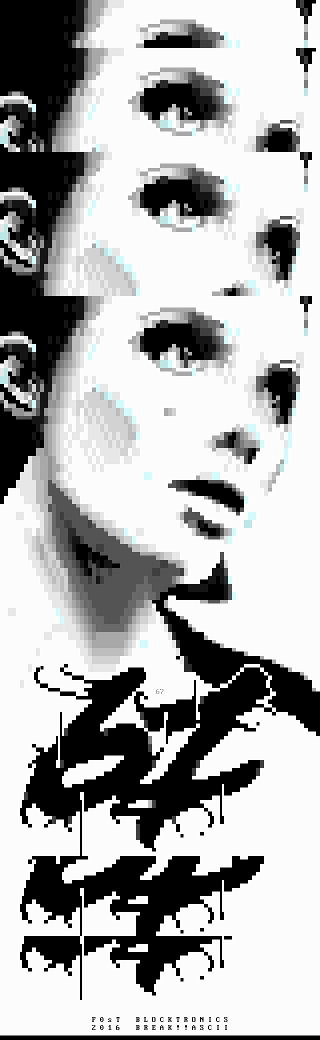 fs-67.xb, portrait, grayscale, greyscale, gray, grey, sexy, woman, girl, eyes, fost, f0st, fs, logo, 67, font, typhography