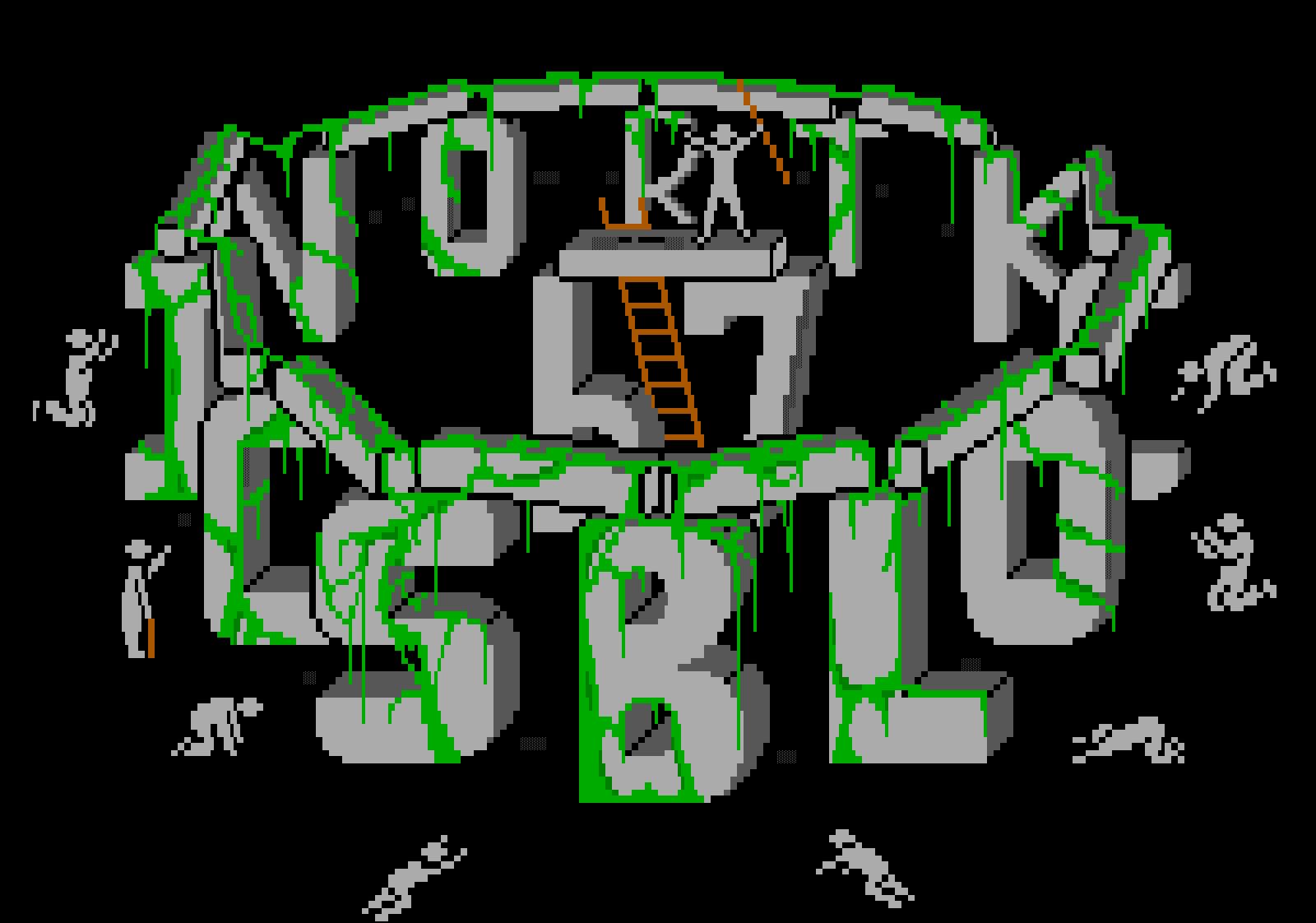 font, logo, typography, blocktronics, stonehenge, gray, green, whazzit
