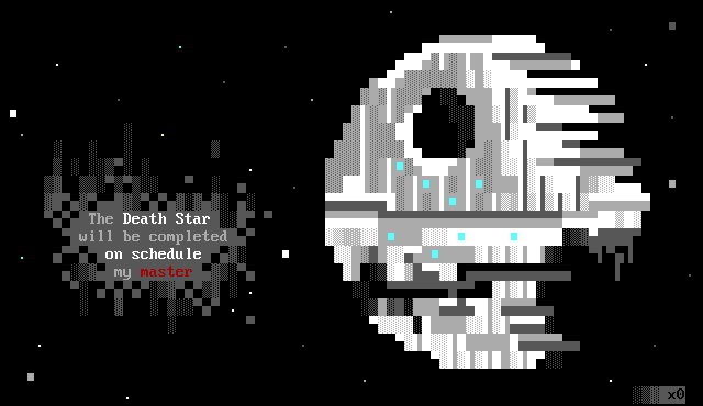 star wars, detention block, detention block aa-23, movie, movie character, x0, xo, xero, xer0, death star, space, white