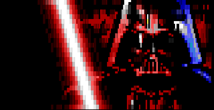 red, white, blue, black, nail, vader, darth, darth vader, star wars, movie, movie character, vilain, bad, sword, light, light saber