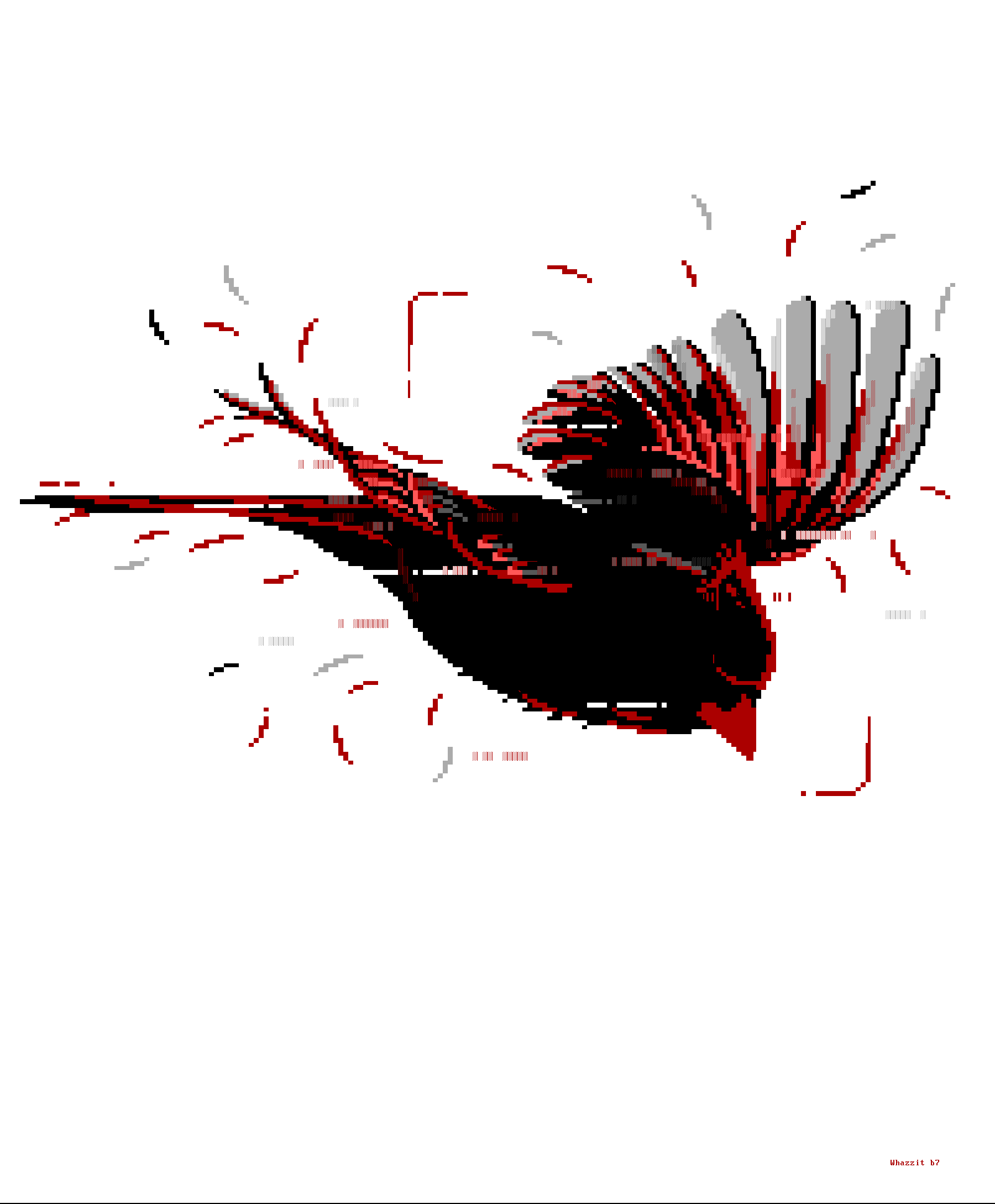 cardinal, whazzit, bird, fly, flying, wing, wings, red, animal, nature, white