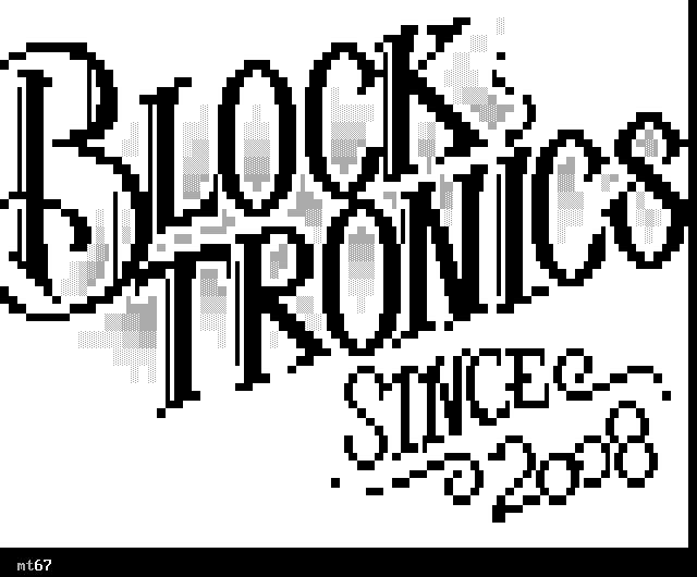 logo, typography, font, blocktronics, since 2008, 2008, white, black